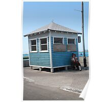 Blue Hut - The Bahamas Poster