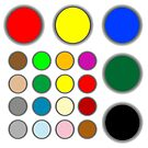 Colored web buttons by robertosch