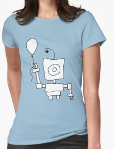 Kid Bot Womens Fitted T-Shirt