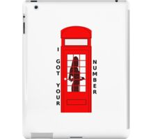 I Got Your Number iPad Case/Skin
