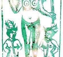 Tarot Le Diable by mysticgypsyshop