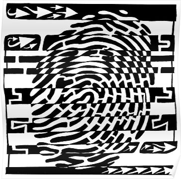 Fingerprint Scanner Maze by Yonatan Frimer