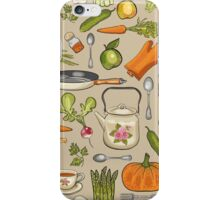 Retro kitchen. iPhone Case/Skin