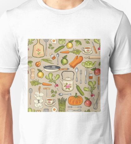 Retro kitchen. Unisex T-Shirt