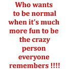 Who wants to be normal by Stephen Willmer