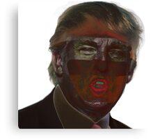 Bugged Donald Trump Canvas Print