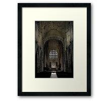 Sherbourne Abbey Framed Print