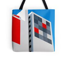 Funky Abode Tote Bag