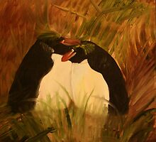 Macaroni Penguins by Rebecca Lee Means