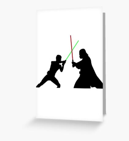 Star Wars Battlefront Greeting Card