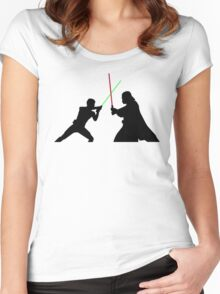 Star Wars Battlefront Women's Fitted Scoop T-Shirt
