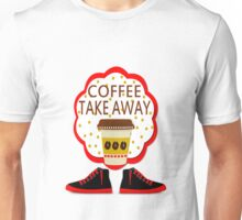 Coffee TakeAway Unisex T-Shirt