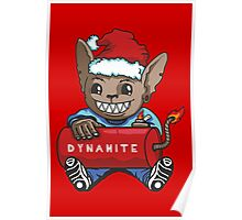 Mouse with Dynamite Poster
