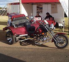 Trike Adventures Dubbo Custom 3 seater OzTrike Touring Trike TRIK3 by Joe Hupp