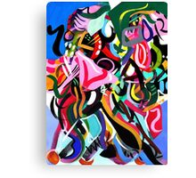 Psych Abstract #2 Canvas Print