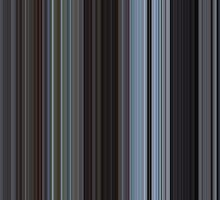 Moviebarcode: Harold and Maude (1971) [Simplified Colors] by moviebarcode