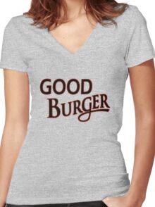Good Burger shirt – Kenan & Kel, Nickelodeon Women's Fitted V-Neck T-Shirt