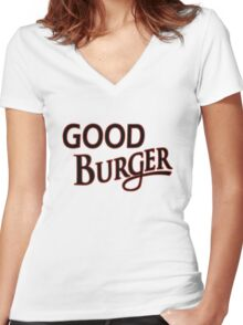 Good Burger shirt – Kenan & Kel, Nickelodeon Women's Fitted V-Neck T-Shirt