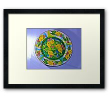 Lemon Serenade Framed Print