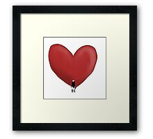 Your love Framed Print