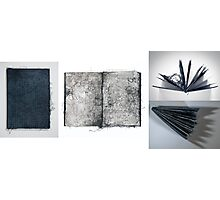 'Threads Book' - Art Documentation Series Photographic Print