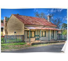 Lyle's Cottage, Hill End, NSW, Australia Poster