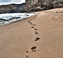 Steps in The Sand by theBottstar