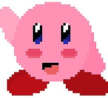 Kirby Pixel Photographic Print