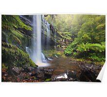 Russell Falls- Mt Field, Tasmania Poster