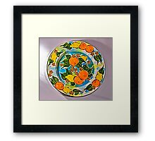 Orange and Lemon Serenade Framed Print