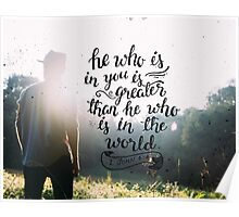 He who is in you Poster