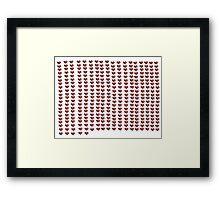 365 days I love you Framed Print