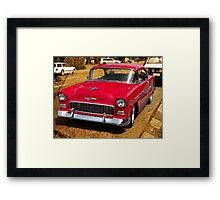 1955 Chev Bel Air coupe Framed Print