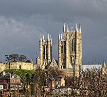Lincoln Cathedral by Ian Richardson