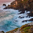 Cornwall: The Crowns Tin Mine by Angie Latham