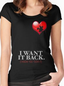 I WANT IT BACK Women's Fitted Scoop T-Shirt