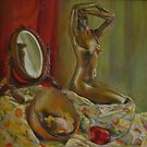 Bronze woman by AgnesZirini