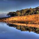 In A Reflective Mood - Oberon Dam, Oberon,NSW Australia - The HDR Experience by Philip Johnson