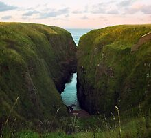 North Sea, Cruden Bay 2 - North East coast of Aberdeenshire, Scotland by Yannik Hay