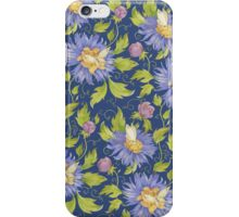 White butterfly pattern iPhone Case/Skin