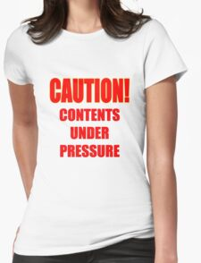 ever feel too stressed? Womens Fitted T-Shirt