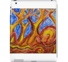 And the trees spoke iPad Case/Skin