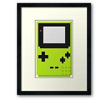 Gameboy Color Pixel Framed Print