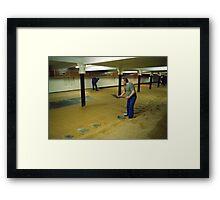 Langley Maltings, England, UK. 1990's. Framed Print