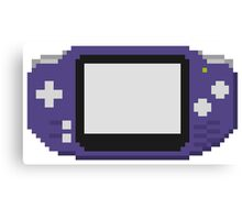 Gameboy advance Canvas Print