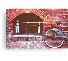 Bicycle in Copenhagen Canvas Print