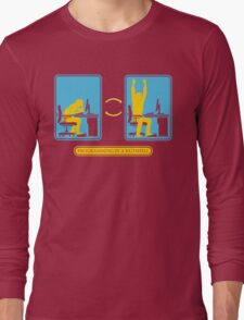 Programming in a nutshell Black Ed Long Sleeve T-Shirt