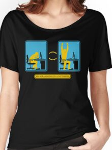 Programming in a nutshell Black Ed Women's Relaxed Fit T-Shirt