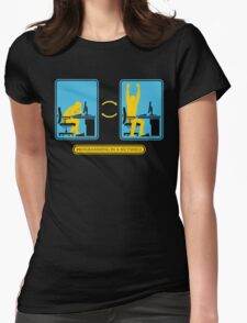 Programming in a nutshell Black Ed Womens Fitted T-Shirt