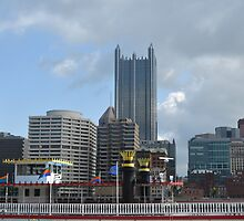 Pittsburgh and Gateway Clipper by Imagery